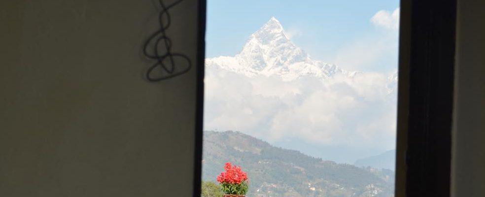 ネパールポカラのホテル宿 HotelYAD