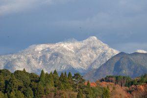 東峰村から英彦山