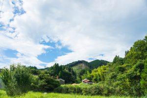 東峰村小石原南の原の景色
