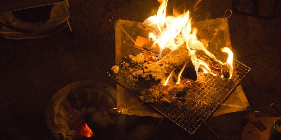 新月味噌仕込み in ポーン太の森キャンプ場